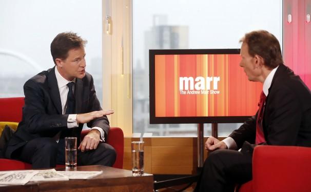british deputy prime minister clegg