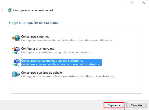 reparar conexión limitada o nula en Windows