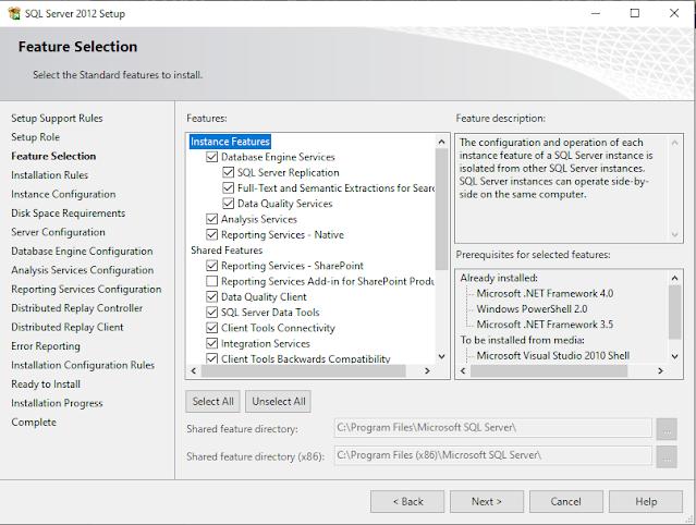 Step by step SQL Server 2012 Installation