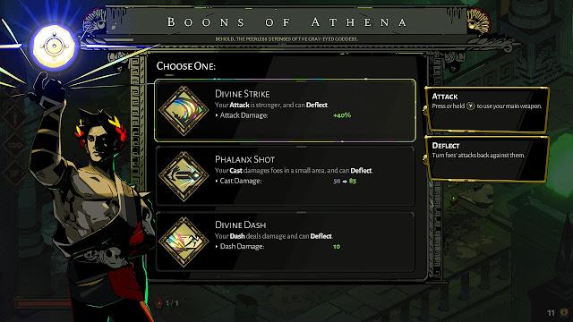 Hades - Boons of Athena
