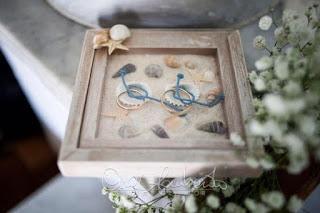 cornice portafedi con sabbia