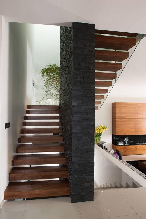 la escalera definici n partes y tipos de arkitectura On escaleras para 3 pisos