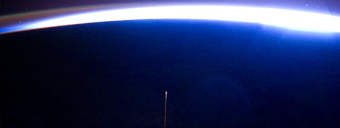módulo russo acaba de fazer reentrada na atmosfera da terra - caiu no oceano pacífico