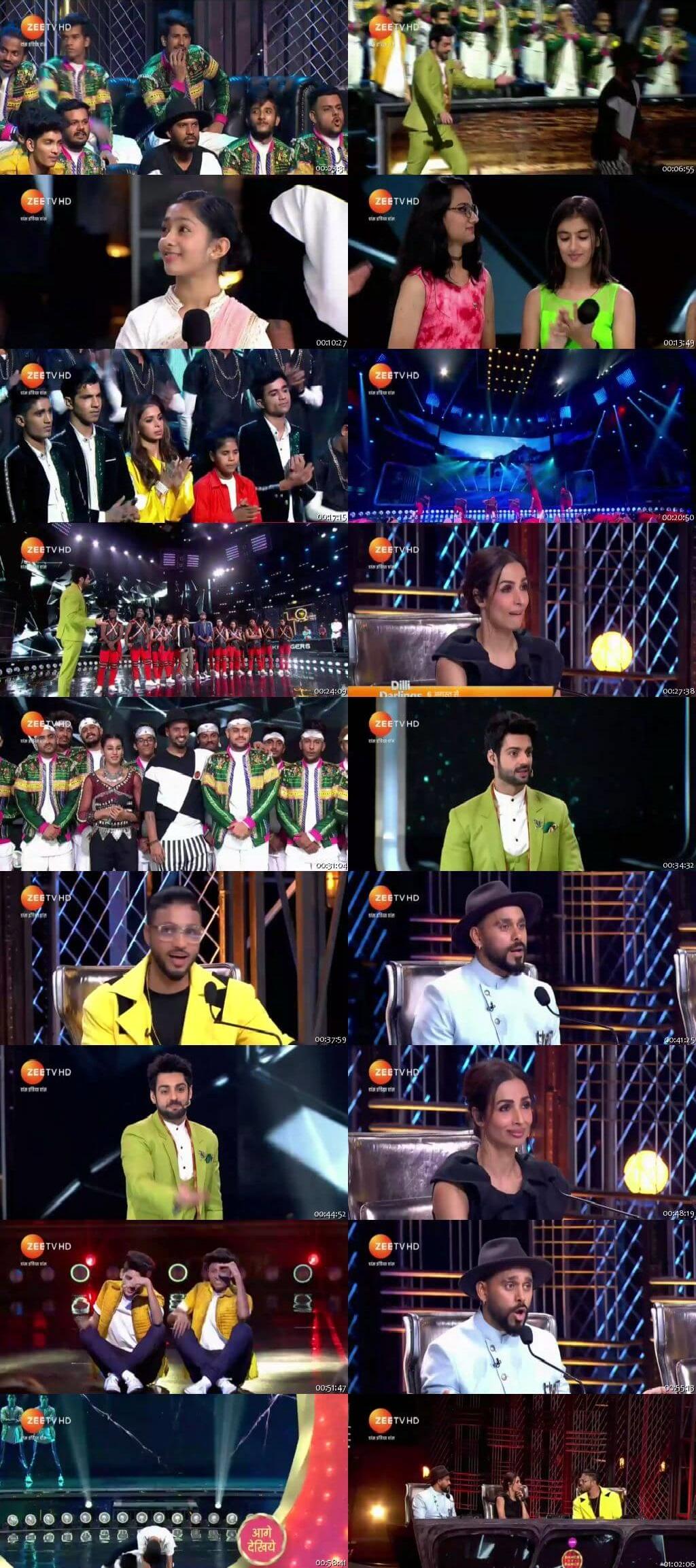 Screenshots Of Hindi Show Dance India Dance Battle of the Champions Season 7 28th July 2019 Episode 12 300MB 480P HD