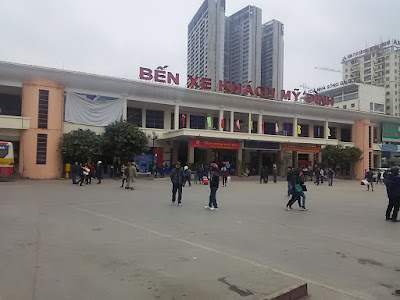 Ben Xe My Đình(ハノイのバスターミナル)