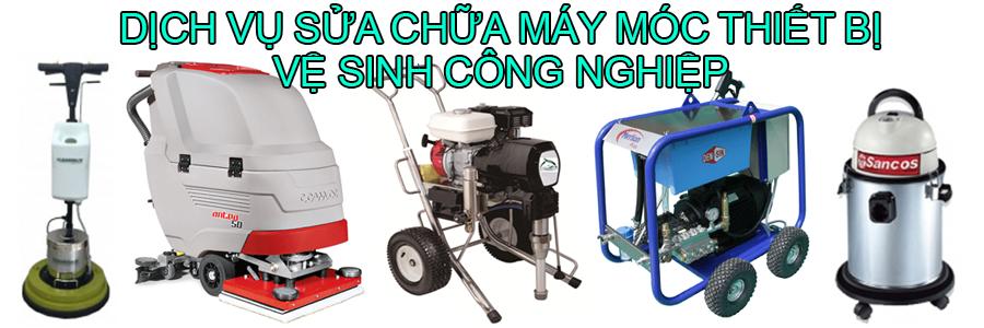 dịch vụ sửa chữa máy móc thiết bị vệ sinh công nghiệp