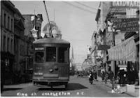 Charleston streetcar, ca. 1900