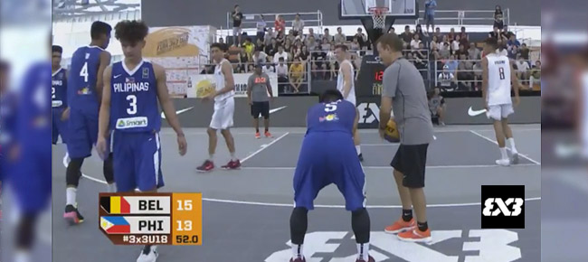 Belgium def. Philippines, 18-14 (REPLAY VIDEO) FIBA 3x3 U18 World Cup 2017 Quarterfinals