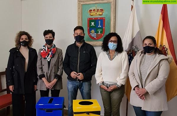 El ayuntamiento de Barlovento apuesta por la recogida selectiva de residuos en sus edificios públicos