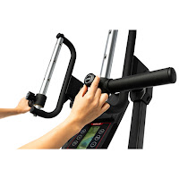 Adjustable handgrips on Sole CC81 Cardio Climber, image