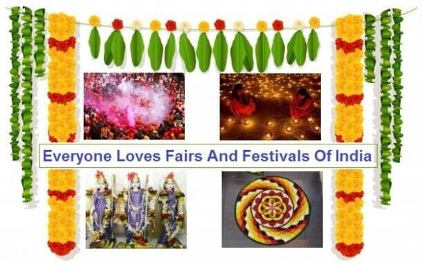 Everyone Loves Fairs And Festivals Of India - 2021