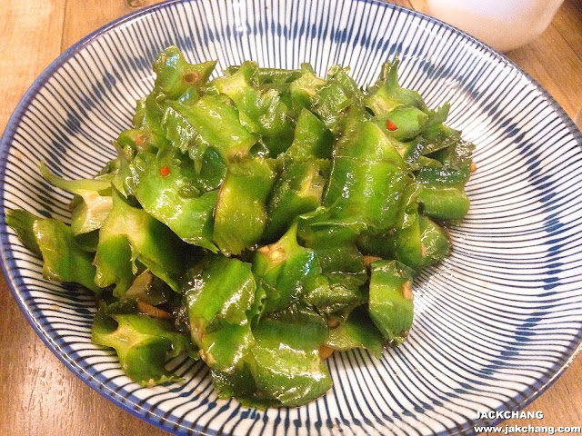 Winged bean stirred with fish sauce