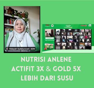 Nutrisi Anlene ACTIFIT 3X dan GOLD 5X Lebih Dari Susu, Agar Tetap Sehat Sampai Tua