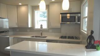 beach cottage Mission Boulevard modern kitchen