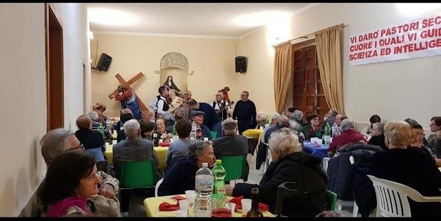 Siculiana, l'Amministrazione Lauricella vicina agli anziani con il tradizionale pranzo natalizio