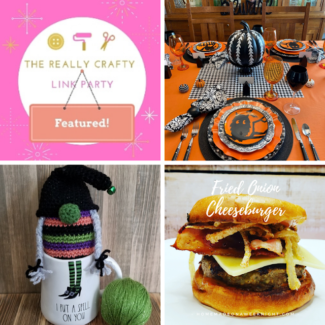 The Really Crafty Link Party #238 featured posts