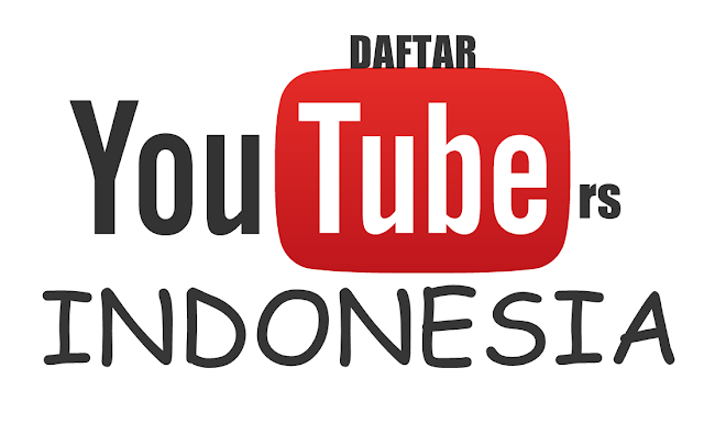 Daftar 30 Youtubers Indonesia