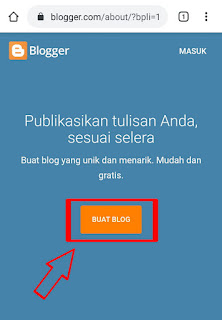 Cara Membuat Blog Di HP Android Untuk Pemula Terbaru