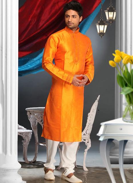 Resplendent Art Silk Kurta Pyjama