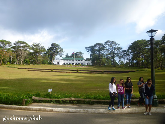 Tourists at The Mansion House of Baguio City