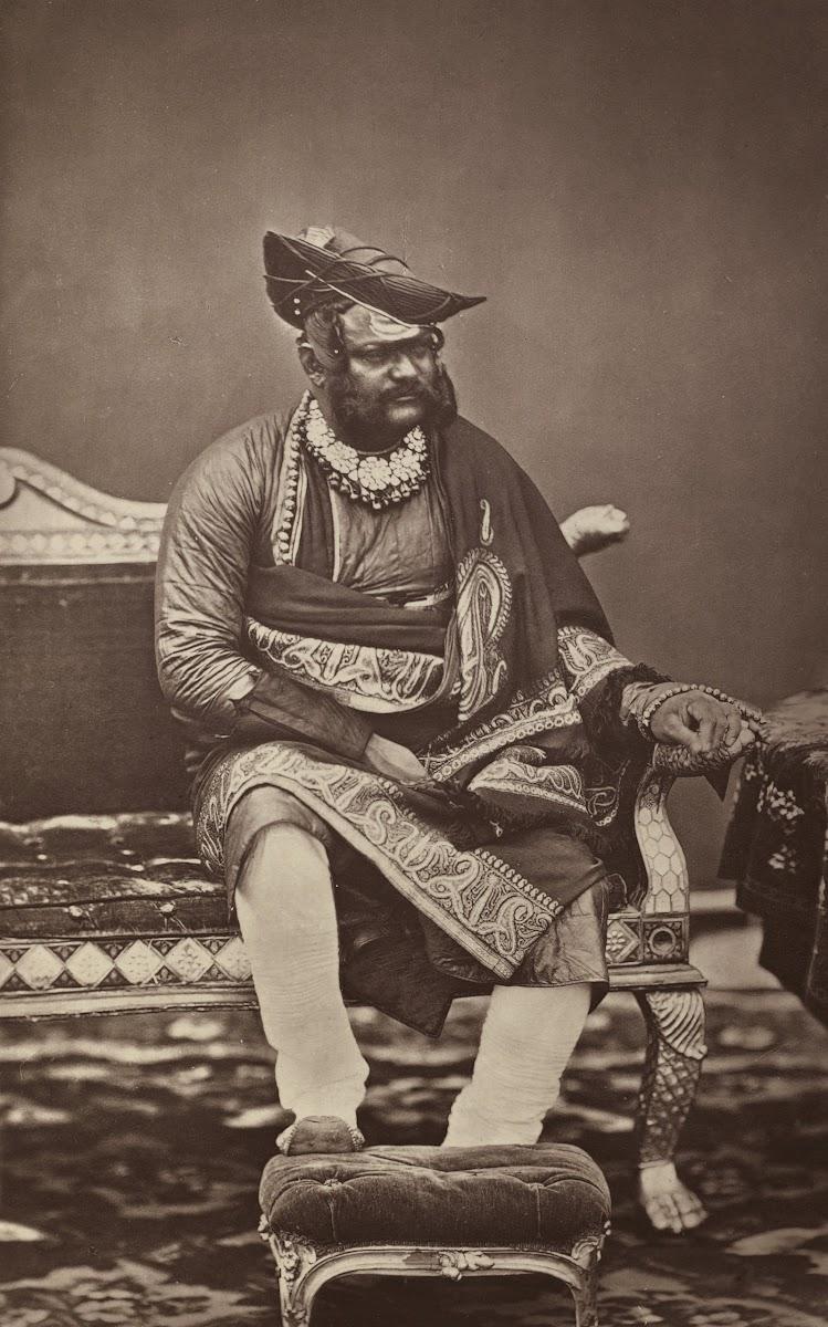 Maharajah of Gwalior Jayajirao Scindia - 1877