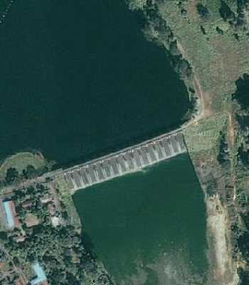 The 16 gated (each 12.2 m X 11.3 m size) spillway of Kaptai Dam have discharge capacity of 625000 cusec