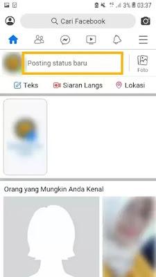 Cara Buat Tulisan Miring di Facebook