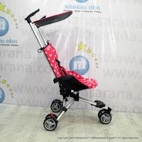 Kereta Bayi LightWeight CocoLatte CL08 iSport Pink