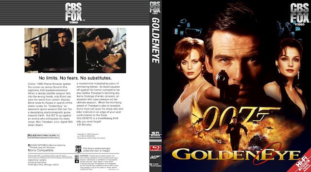 GoldenEye Bluray Cover