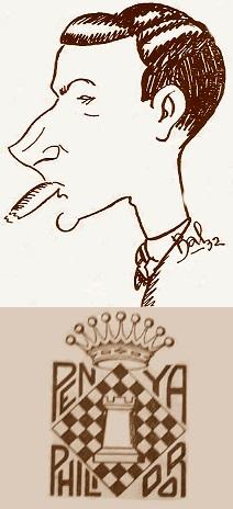 El ajedrecista Rafael Escoté