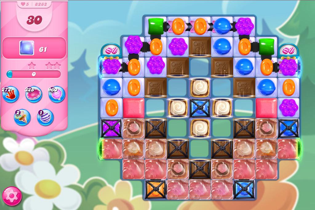 Candy Crush Saga level 8282