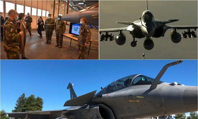 Στη «φωλιά» των Rafale οι Έλληνες πιλότοι-Πότε θα μπουν στα πιλοτήρια-Όλα όσα συμβαίνουν στην αεροπορική βάση της Armee De L'Air