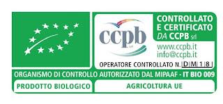 Certificazioni ottenute da HDR Certificazione BIO L'organo di controllo