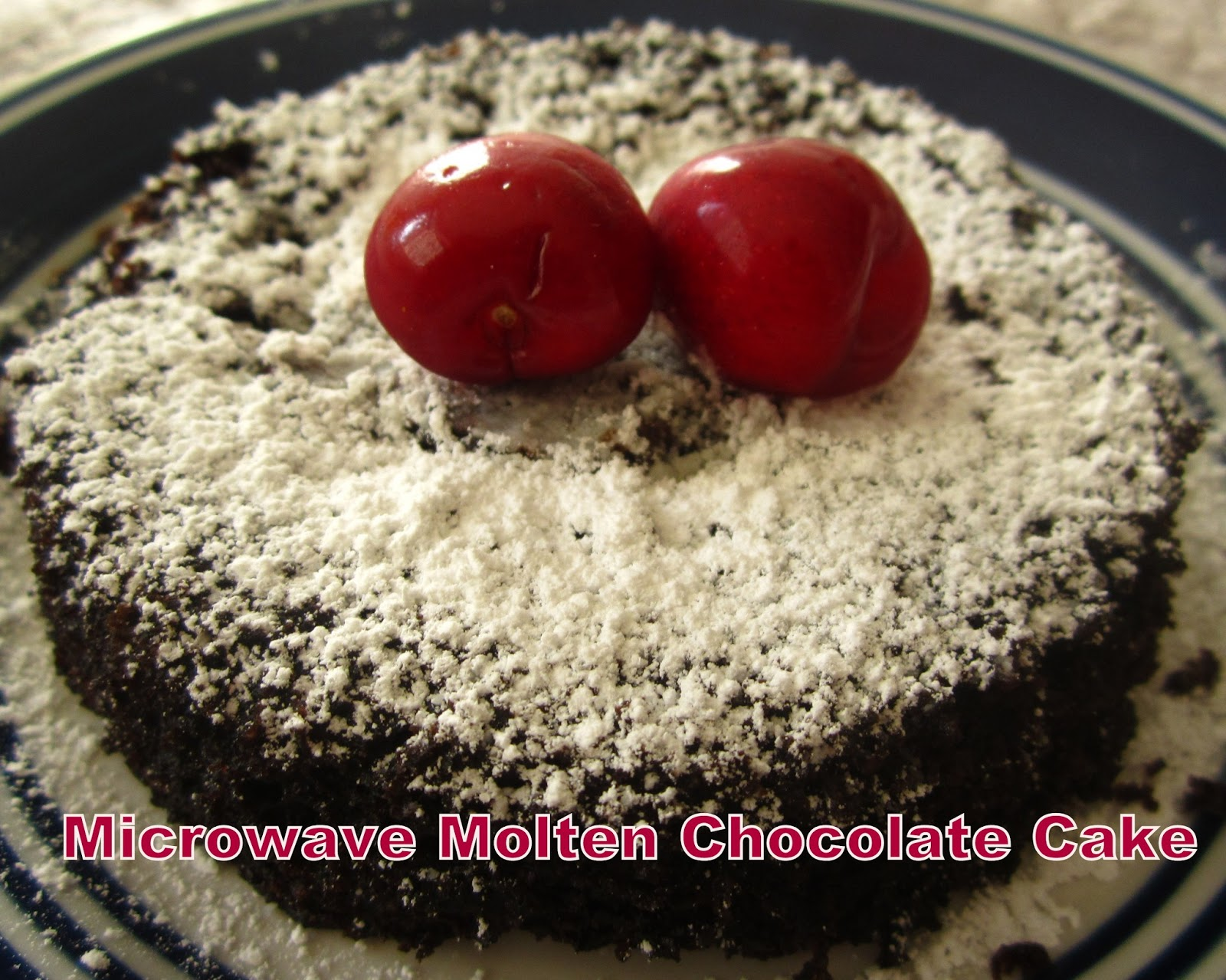 Microwave Cake Recipes In Bangla: Welcome Foodie !!: Microwave Molten Chocolate Cake
