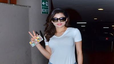 Urvashi Rautela Tight Melons In a See Through Top