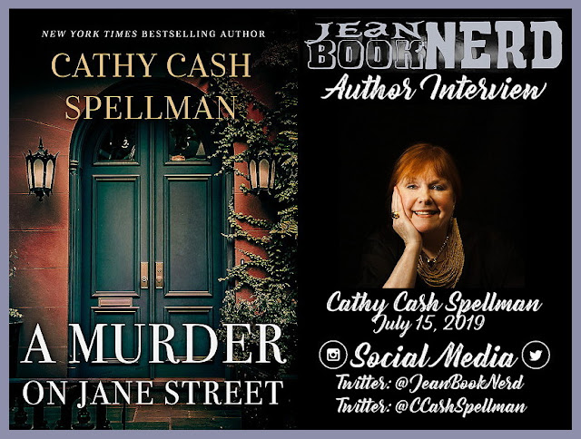 Cathy Cash Spellman Author Interview ~ Jean BookNerd