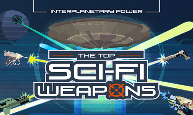 What are the top weapons in science fiction?