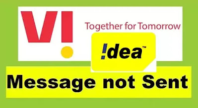 SMS Not Sent in Idea VI SIM - Idea VI Messages Not Sending Problem Solved