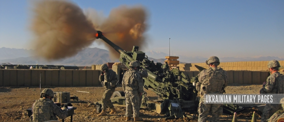 US M777 Light Towed Howitzer, War in Afghanistan, 2009 - Ukrainian Military Pages