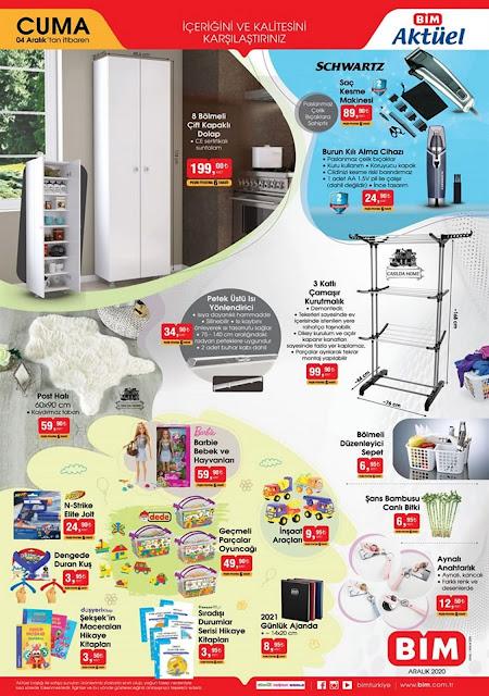 bim 4 aralık 2020 aktüel ürünleri