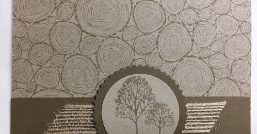 Lovely as  Tree, Tree Rings, Masculine Card, Stamp a Stack