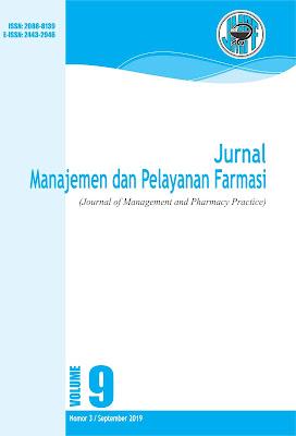 Jurnal Manajemen dan Pelayanan Farmasi