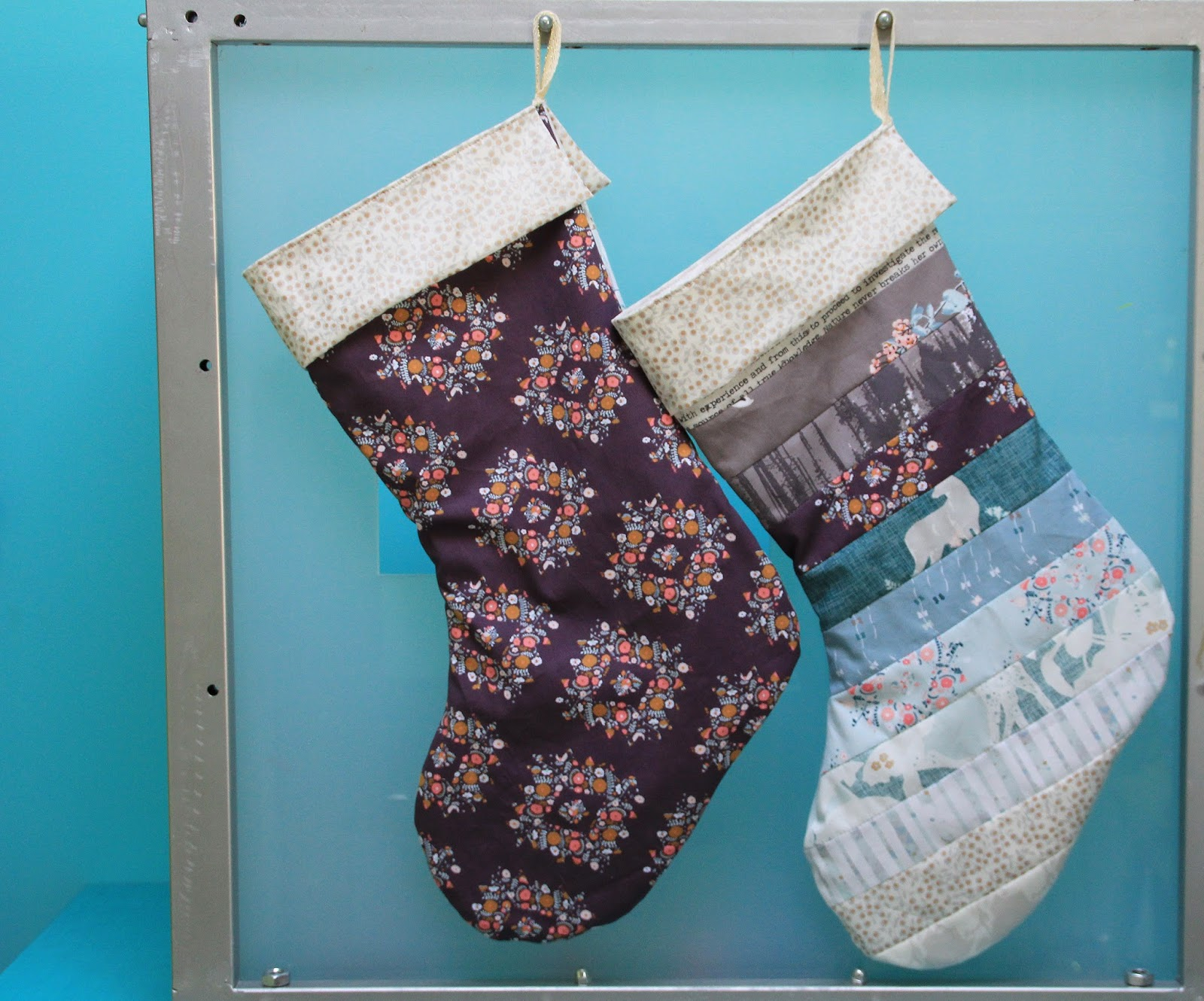 Likeflowersandbutterflies Christmas Stocking Tutorial