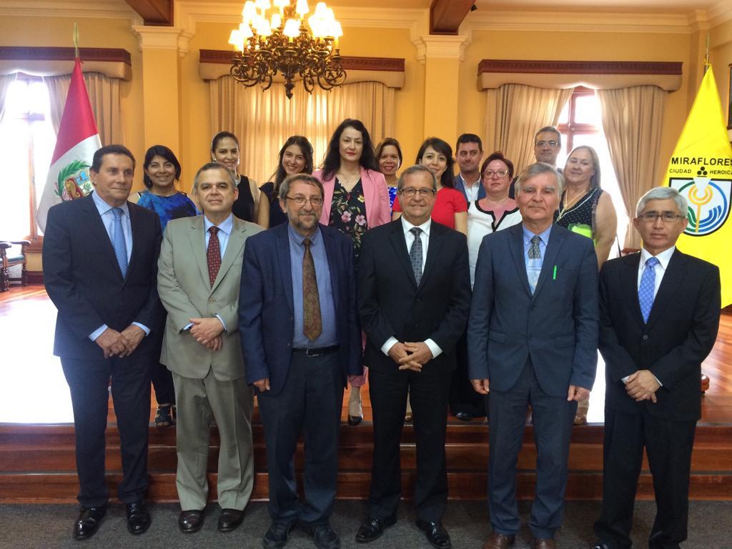 Στην Λάρισα αντιπροσωπεία από τη Μιραφλόρες του Περού