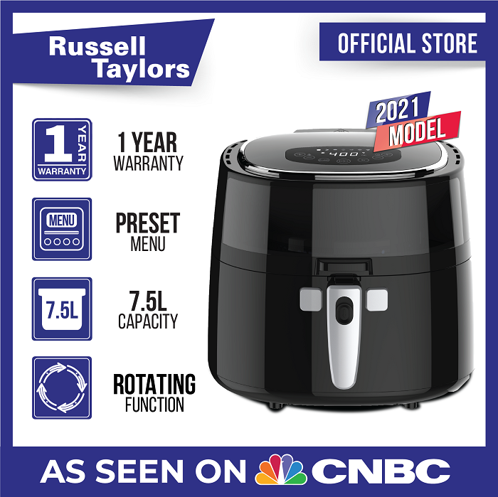 Russell Taylors Digital Rotary Air Fryer 7.5L AF-76