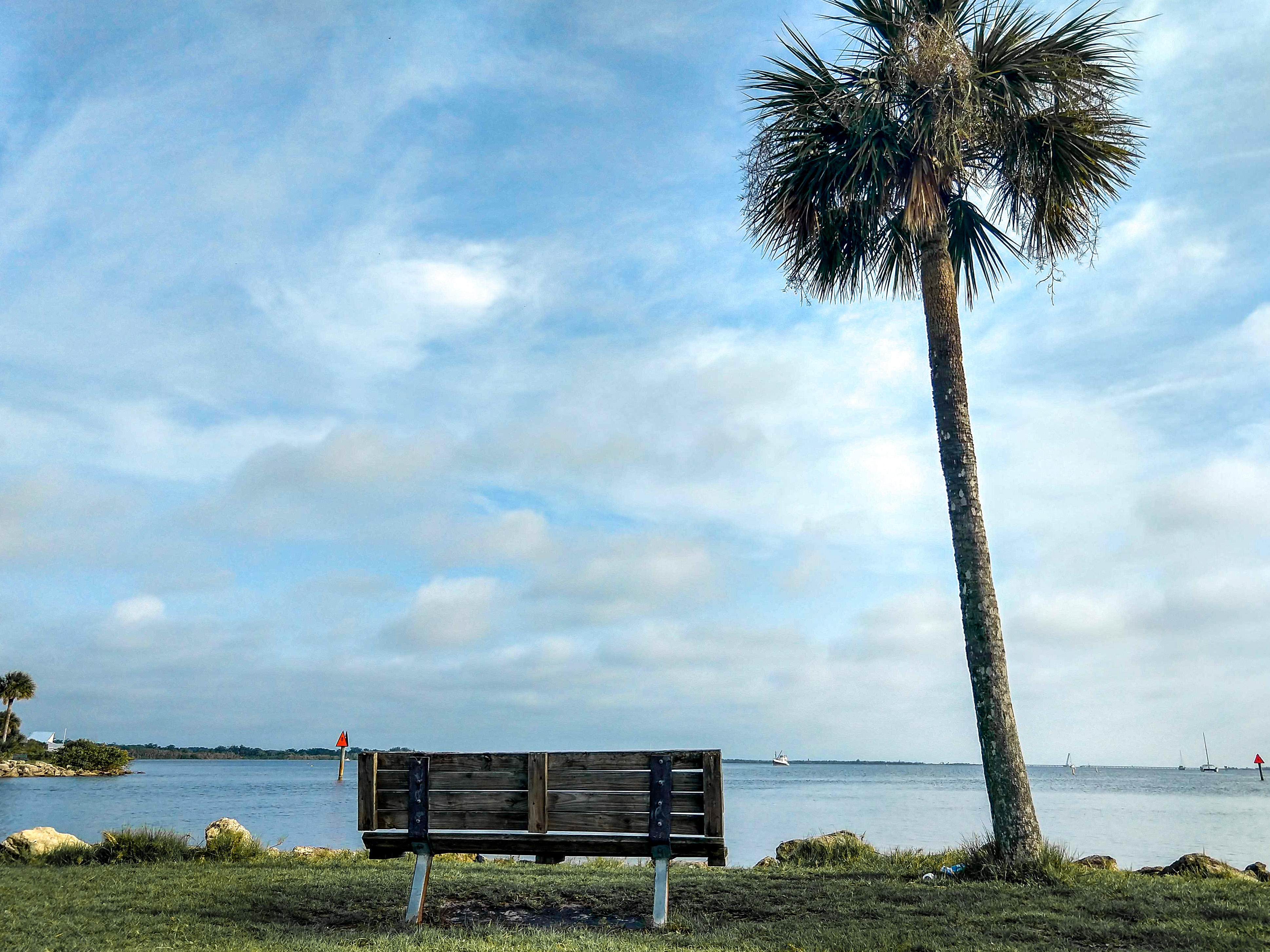 titusville, sand point, park, indian river