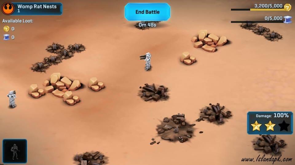 Download Star Wars Commander Mod Apk v4.8.0.9512 Android Terbaru (Damage,Health)