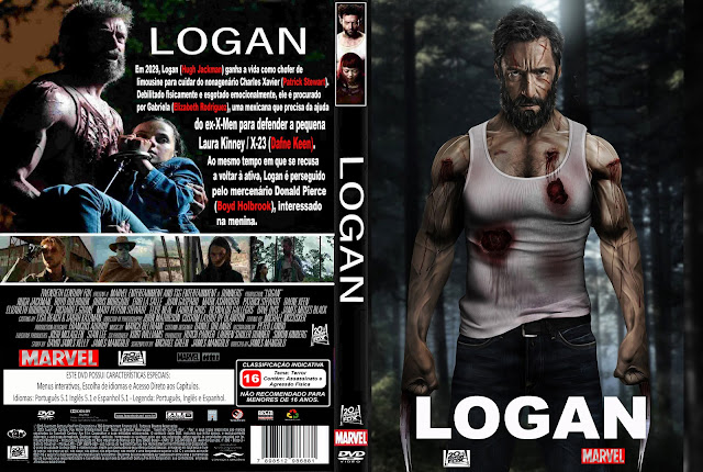 Capa DVD Logan