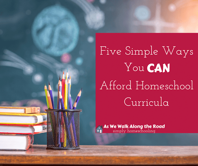 How to afford homeschool curricula