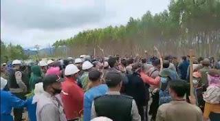 PGI Ajak Gereja-Gereja di Sumut Dampingi Warga Korban PT. TPL